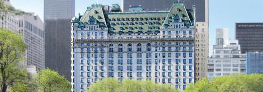 Plaza Hotel exterior in New York City